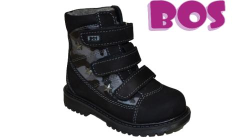Ботинки 26-30 Чёрные ХАКИ ВЫСОКИЕ Утеплитель